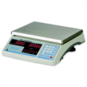Salter Count and Weigh Postal Scale Accumulate and Count Red LED 6kg 1g Increments W295xD335xH117mm B120