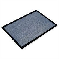Indoor Entrance Mat Hard-wearing 800mm x 1200mm Grey Doortex Valuemat That Soaks Moisture & Removes Particles. Ideal For Use In Offices, Warehouses, Sports Clubs & Domestic Use.