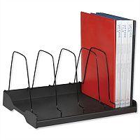 Arnos Eco Tidy Adjustable Book Rack Black
