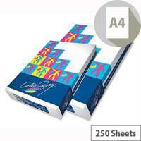 Color Copy A4 160gsm White Extra Smooth Copier Paper Ream of 250 Sheets