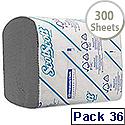 Scott White 2 Ply Bulk Pack Toilet Tissue 300 Sheets Pack of 36 8577