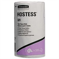 Hostess Dispenser Refill Toilet Tissue Rolls 2 Ply Pack 36 Toilet Paper Rolls
