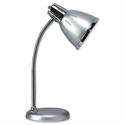 Retro Desk Lamp Fluorescent Flexible Arm Grey Unilux