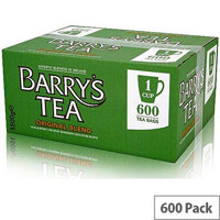 Barrys Original Blend Green Label 600's 1 Cup Tea Bags [Pack of 600]