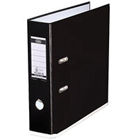 Elba MyColour Lever Arch File 80mm Polypropylene A4 Black and White