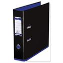 Elba MyColour Lever Arch File 80mm Polypropylene A4 Black and Purple