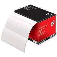 Office Address Labels 5 Star 89x36mm on Continuous Roll (250 Labels)