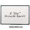 Whiteboard 1200 x 900mm 5 Star
