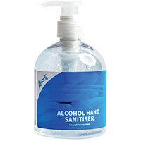 2Work 74% Alcohol Gel Hand Sanitiser 500ml 1000000083