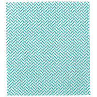 2Work Medium Weight Colour Coded Cleaning Cloths Green 38x40cm Pack of 5 CCGM4005I