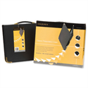 A1 Presentation Case Vinyl Black Goldline