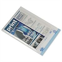 Postsafe Light-Weight C4 Clear White Panel Polythene Protective Envelopes (Pack 100)