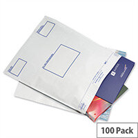 GoSecure Extra Strong C5 Polythene Protective Envelopes Pack of 100