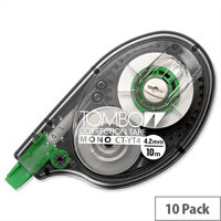 Tombow Mono Correction Tape Roller 4mmx10m Pack 10 CT-YT4