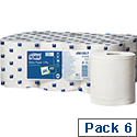 Tork Dispenser Hand Paper Towel 640 Sheet Roll 160m Two-ply White Ref 589229 [Packed 6]