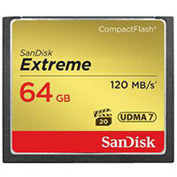 SanDisk Extreme - flash memory card - 64 GB - CompactFlash