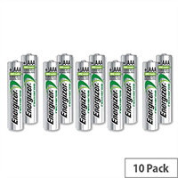 Energizer Advanced AAA Battery Rechargeable NiMH 700mAh LR03 1.2V Pack 10