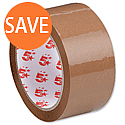 Packing Tape Polypropylene 50mm x 66m Buff 5 Star