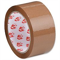 Packing Tape Polypropylene 48mm x 66m  Buff 5 Star