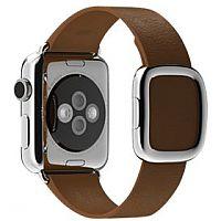 Apple 38mm Modern Buckle 16.5cm Brown Leather Watch Strap
