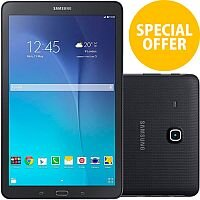 "Samsung Galaxy Tab E Tablet Android 8GB 9.6"" WiFi Bluetooth MicroSD"