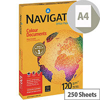 Navigator Multifunctional Paper A4 120gsm White Ream of 250 Sheets