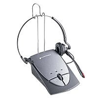 Plantronics S12 Amplifier and Headset Silver 36784-01