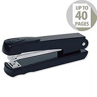 Rexel Aquarius Stapler Full Strip Throat 90mm Black