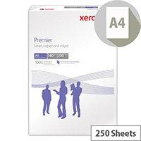 Xerox Premier Copier Paper A4 160gsm White 250 Sheets