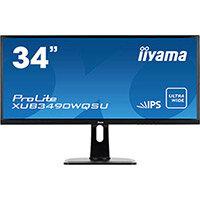Iiyama ProLite XUB3490WQSU-B1 LED Computer Monitor 34in