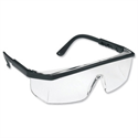 KSP Safety Glasses Wraparound Visispec Spectacles Polycarbonate Clear Lens