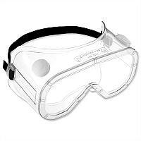 Martcare Anti-Mist Dust Liquid Safety Goggles Polycarbonate Lens Square Ref AGC021-201-300