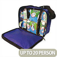 Wallace Cameron First Aid Kit Blue Response Bag Up to 20 Person