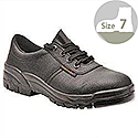 Portwest S1P Safety Shoes Steel-toecap Buffalo Leather Energy-absorbant Heel Size 7 Ref FW14SIZE7