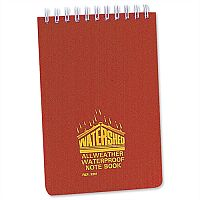 Ruled Waterproof Notebook Wirebound 101 x 156mm 2291Z 100 Pages Chartwell