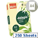 Adagio A4 Pastel Canary Coloured Card 160gsm (Pack of 250)