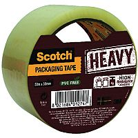 Scotch Heavy Duty Packaging Tape 50mm x 50m Clear HV.5050.S.B