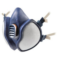3M Respirator Half Mask Blue (Pack of 1) 4251