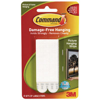 Command Large Picture Hanging Strip Clipstrip Pack of 12 7100064951