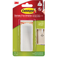 Command Canvas Hanger Large White 1HK+2S 17044
