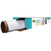 Post-it Super Sticky White Dry Erase Film Roll 15.24 x 1.21m DEF50X4-EU