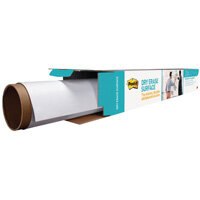 Post-it Super Sticky White Dry Erase Film Roll 1.219 x 1.829m DEF6X4-EU