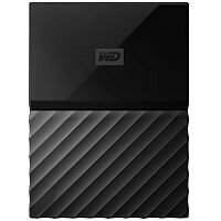 WD My Passport for Mac WDBFKF0010BBK External Hard Drive 1 TB USB 3.0 Black