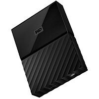 WD My Passport 2TB External Hard drive Encrypted Portable HDD USB 3.0 Black