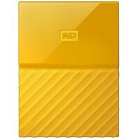 WD My Passport WDBYNN0010BYL External Hard Drive 1 TB USB 3.0 Yellow