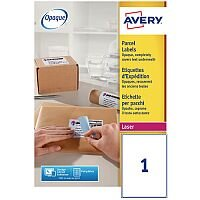 Avery L7167-40 Address Labels Laser 199.6 x 289.1mm White (40 Labels)