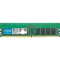 Crucial - DDR4 - 16 GB - DIMM 288-pin - 2666 MHz / PC4-21300 - CL19 - 1.2 V - registered - ECC