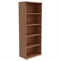 Trexus Tall Bookcase W800xD420xH2053mm Beech