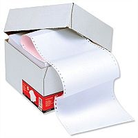 2 Part NCR Listing Paper 241mm Plain 1000 Sheets 5 Star