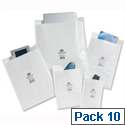 Jiffy Airkraft Size 1 170x245mm White Bubble Lined Postal Bags Pack of 10